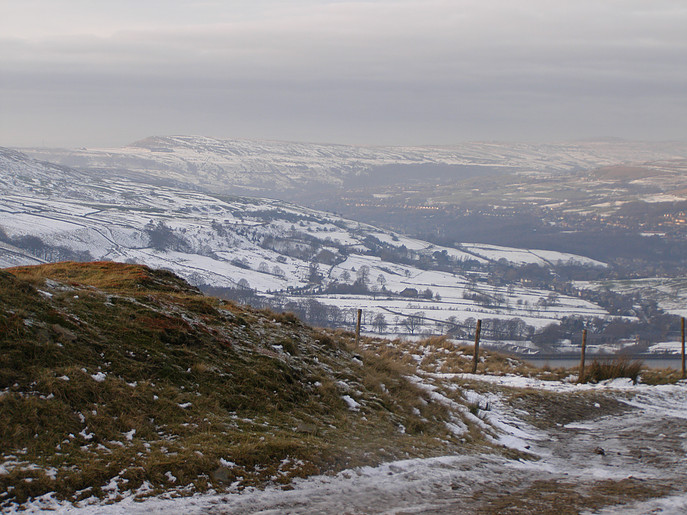 View from Rooley Moor